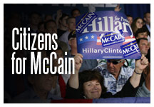 Hillary Supporters - Citizens for McCain